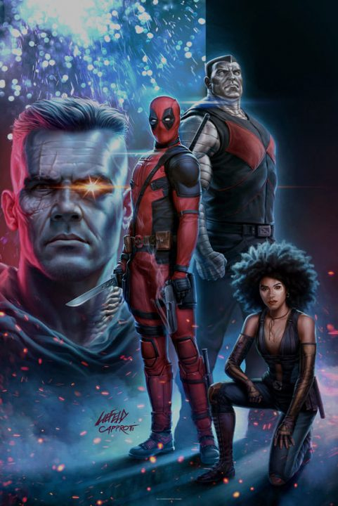 deadpool 2 poster rob liefeld