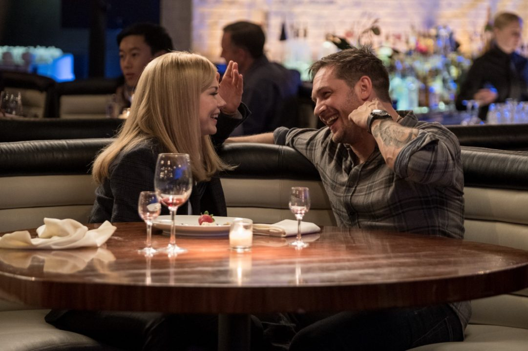 venom tom hardy michelle williams