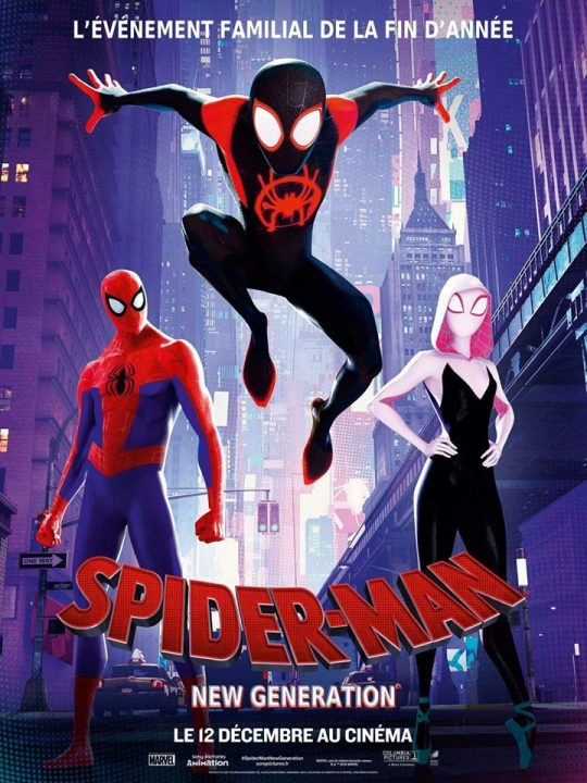 affiche spider-man new generation