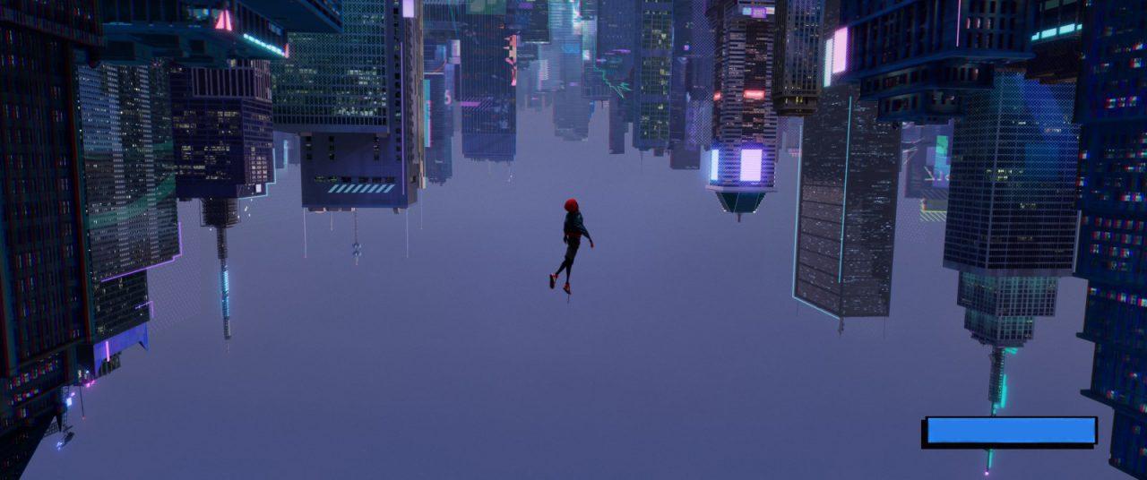 spider-man into the spider-verse miles glitch